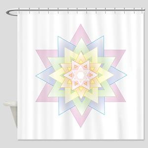 Esther Star Shower Curtain