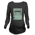 Capitalism Long Sleeve Maternity T-Shirt