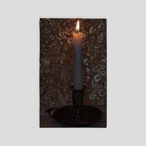 Vintage Candlestick 3'x5' Area Rug
