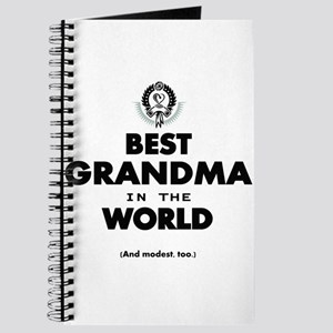 The Best in the World Best Grandma Journal