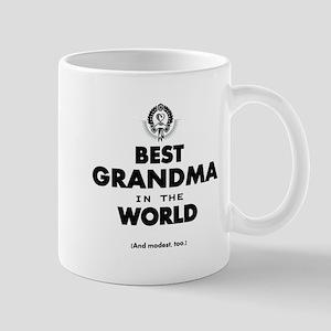The Best in the World Best Grandma Mugs