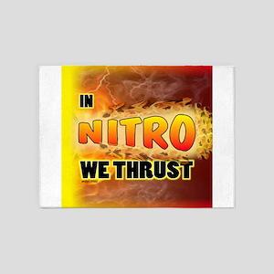 In Nitro We Thrust 5'x7'Area Rug