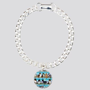Sheltie Lovers Gifts Charm Bracelet, One Charm