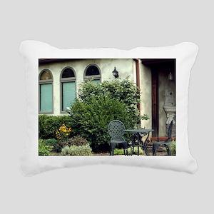 Villa Rectangular Canvas Pillow