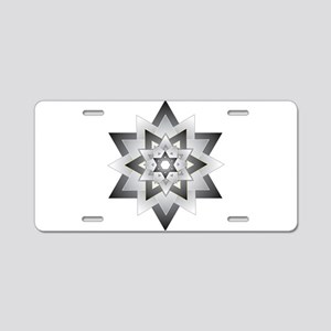 Jacob Star Aluminum License Plate