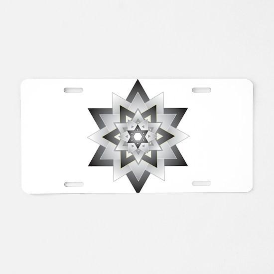 Jacob Star Aluminum License Plate