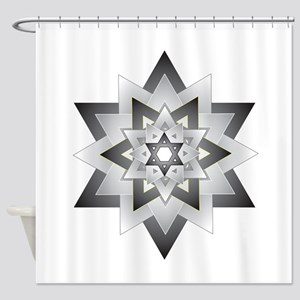 Jacob Star Shower Curtain