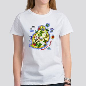 tropical island Women's T-Shirt