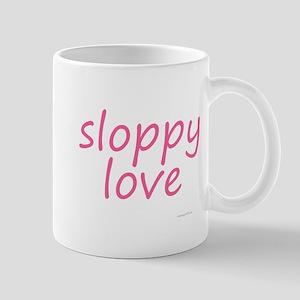 sloppy love pink Mug