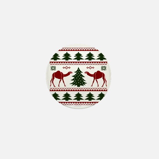 Hump Day Inspired Camel Ugly Sweater Mini Button