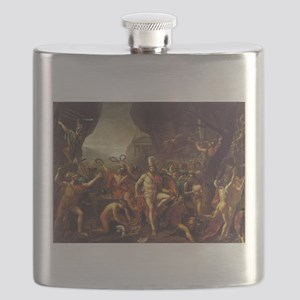 King Leonidas Sparta Flask
