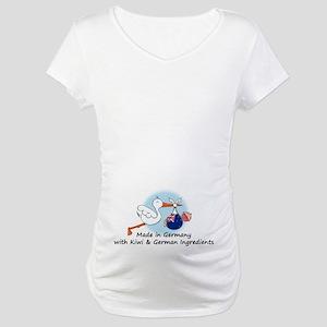 Stork Baby NZ Germany Maternity T-Shirt