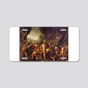 King Leonidas Sparta Aluminum License Plate