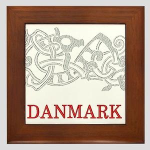 DANMARK Framed Tile