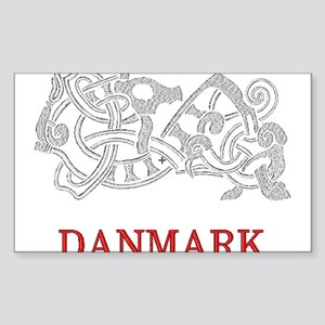 DANMARK Rectangle Sticker
