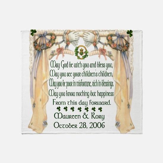 Wedding Sample (Blessing) Throw Blanket