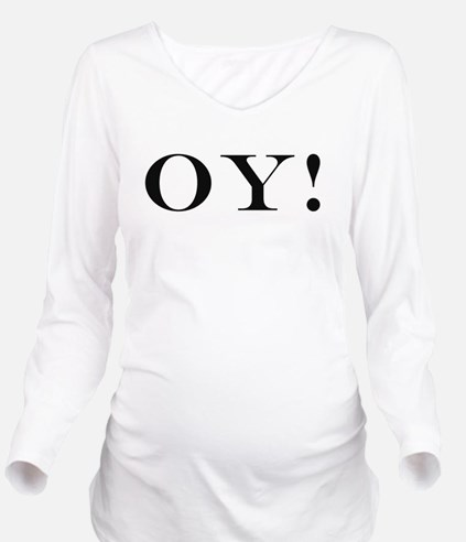 Oy Long Sleeve Maternity T-Shirt