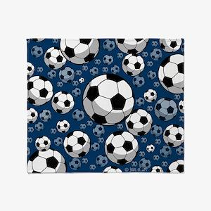 Soccer Throw Blanket