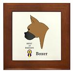 Boxer Framed Tile