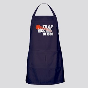 Trap Shooting Mom Apron (dark)