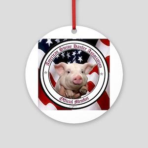 American Swine Haulers Association OO1 Ornament (R