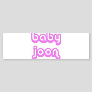 BABY JOON Bumper Sticker