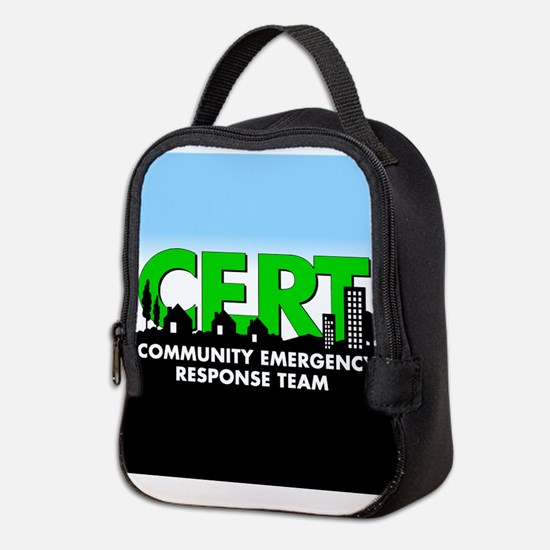 Cert Neoprene Lunch Bag