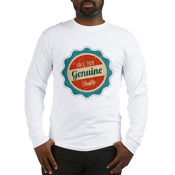 Retro Genuine Quality Since 2010 Long Sleeve T-Shi