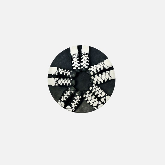 Irish Dance Ghillies Ring Mini Button