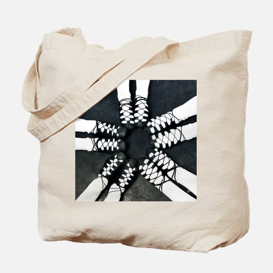Irish Dance Ghillies Ring Tote Bag