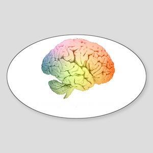 Celebrate Neurodiversity Sticker (Oval)
