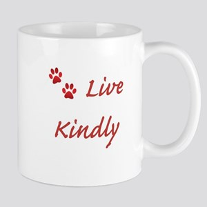 Live Kindly Mugs