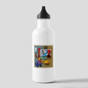 Jazz Music Water Bottle