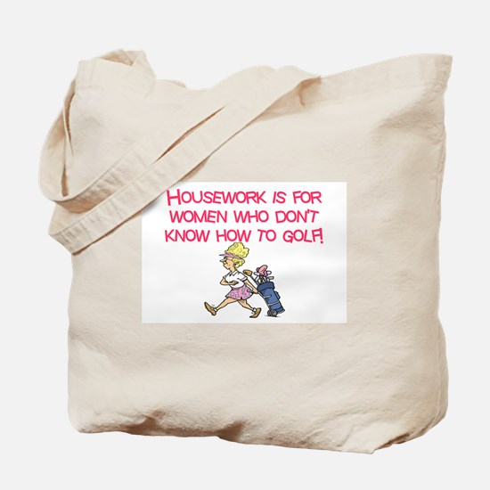 Funny Course Tote Bag