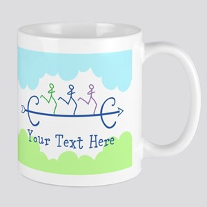 Personalized Cross Country Running Mug