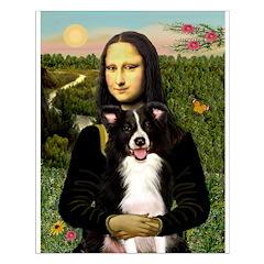 Mona & Border Collie Posters