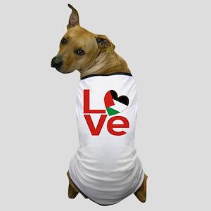 Red Palestinian LOVE Dog T-Shirt