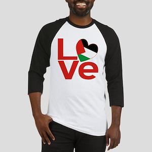 Red Palestinian LOVE Baseball Jersey