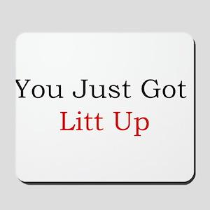 Litt Up Mousepad