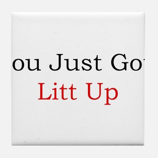 Litt Up Tile Coaster