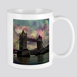 london tower bridge, dramatic light Mugs