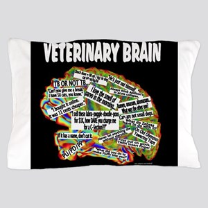 vet brain Pillow Case