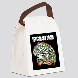 vet brain Canvas Lunch Bag