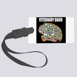vet brain Luggage Tag