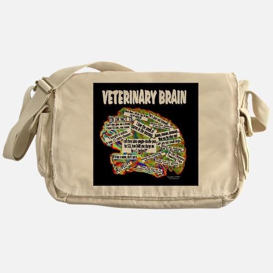 vet brain Messenger Bag