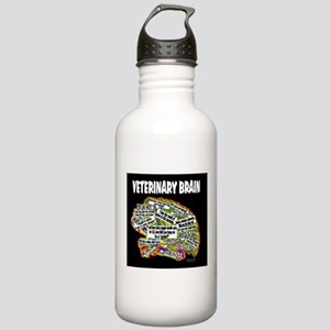 vet brain Water Bottle