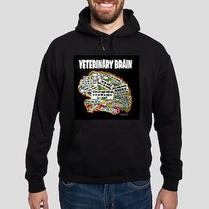 vet brain Hoodie