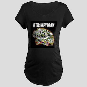 vet brain Maternity T-Shirt