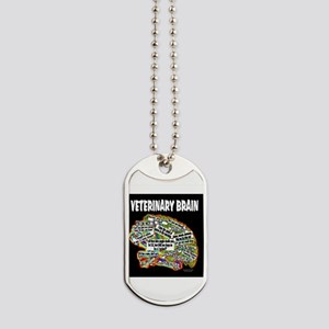 vet brain Dog Tags