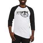Atheism Doesn't Start Wars Baseball Jersey